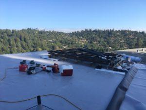 TPO roofing in Kentfield