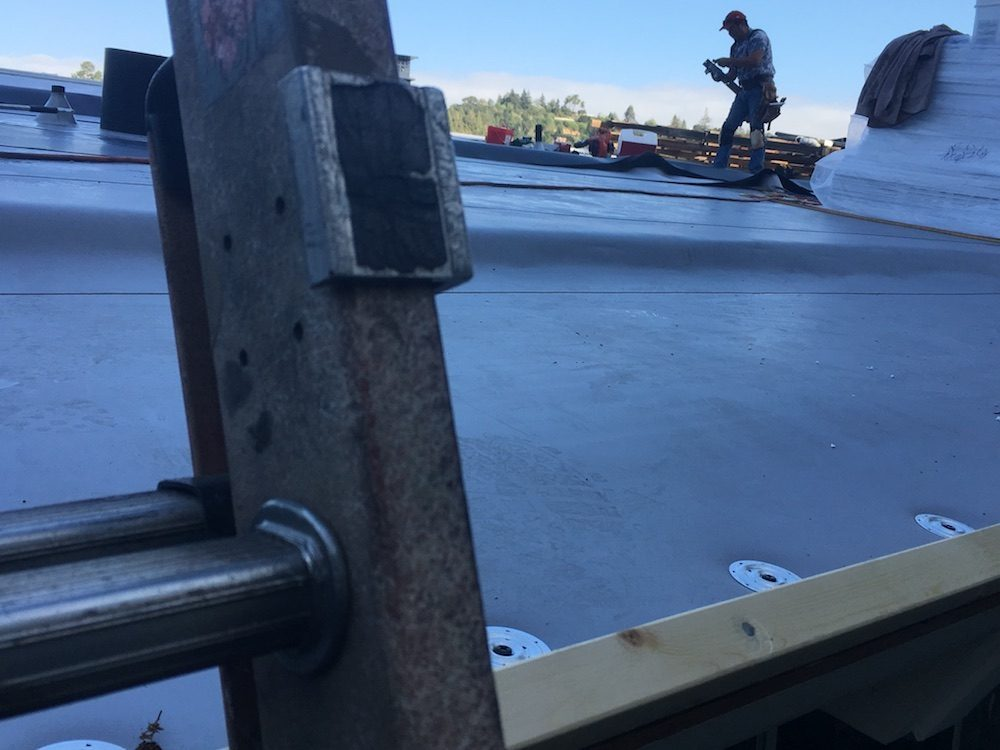 TPO roofing by Capstone Roofing